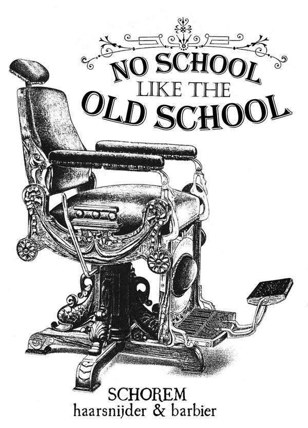 Barber chair tattoo - Schorem On Twitter Quot No School Like The Old School Http T Co