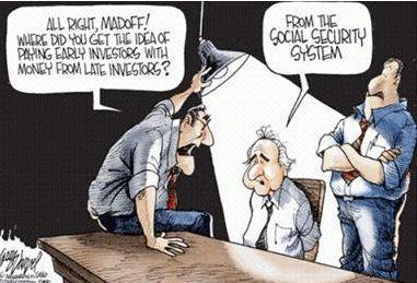 Viñeta Madoff seguridad social