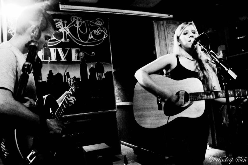 Our artist of the day, Hannah Ruth, gained a following from her regular appearances at Berkely Cafe's open mic. http://t.co/Mt47R5H4