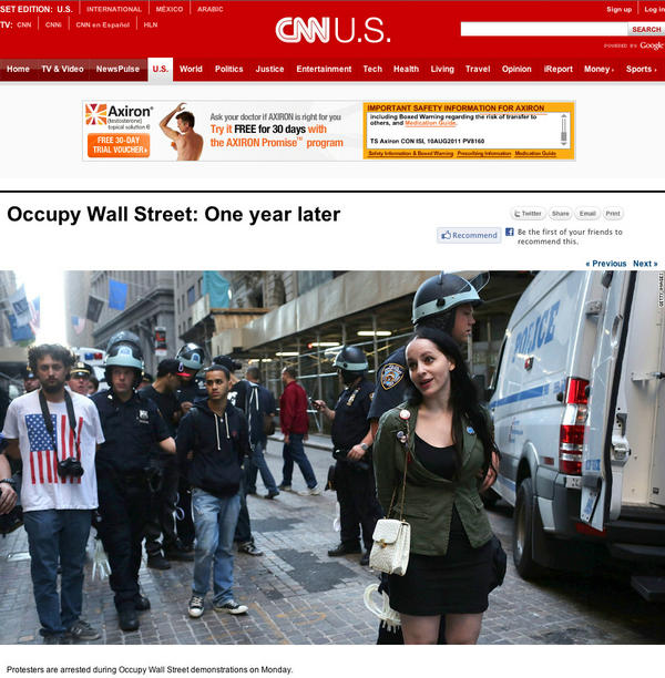 My friend @mollycrabapple makes CNN, though not the way she'd like methinks. http://pic.twitter.com/QryTXWkL