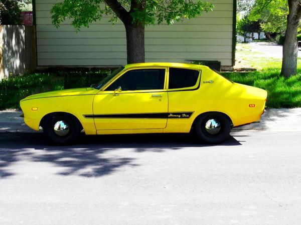 """Ross Callen on Twitter: """"@LenosGarage 1977 Datsun B210 ..."""
