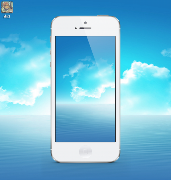 Ar7 On Twitter Apple Iphone5 Wallpapers Sea Wallpaper