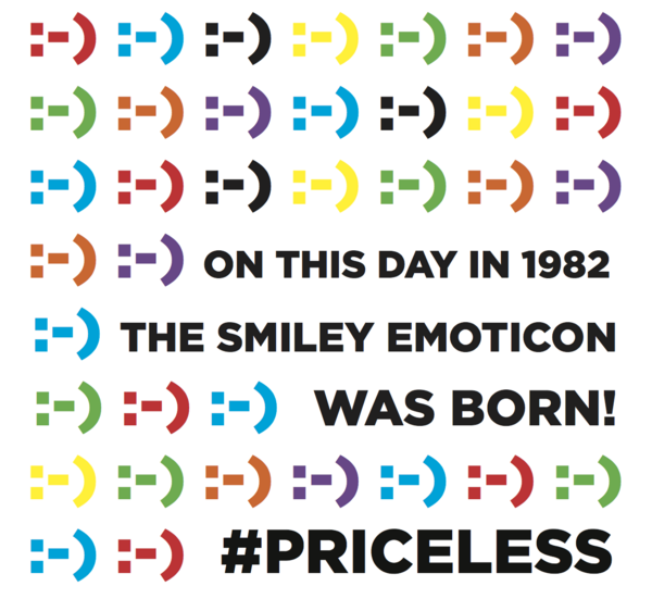 Mastercard On Twitter Happy 30th Birthday To The Smiley Face