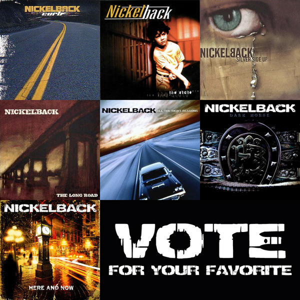 Nickelback On Twitter Quick Take A Break From What You Are Doing