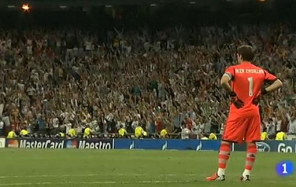 Why didnt Iker Casillas celebrate Cristiano Ronaldos dramatic winner for Real Madrid v Manchester City?