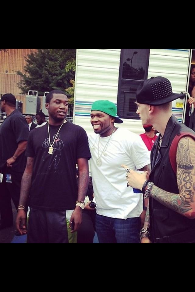 > 50 Cent x Meek Mill x Machine Gun Kelly - Photo posted in The Hip-Hop Spot | Sign in and leave a comment below!