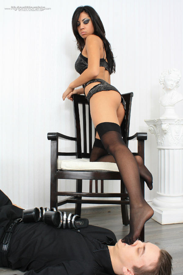 Remarkable, femdom nylon pantyhose excited