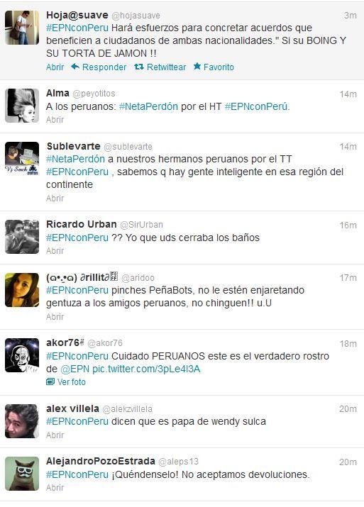 Peñabots hacen el HT #EPNconPeru y los trolean A3k9QI5CYAAddbF
