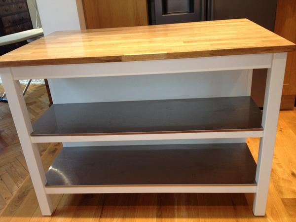 Alexandra Chiorando On Twitter For Sale Ikea Stenstorp Kitchen Island Oak Steel White L126cm