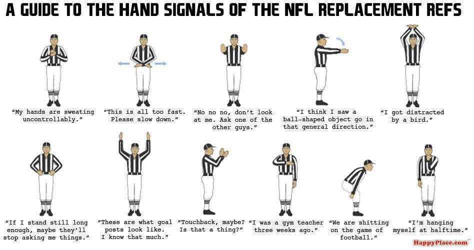 bleacher report on twitter quota guide to the hand signals