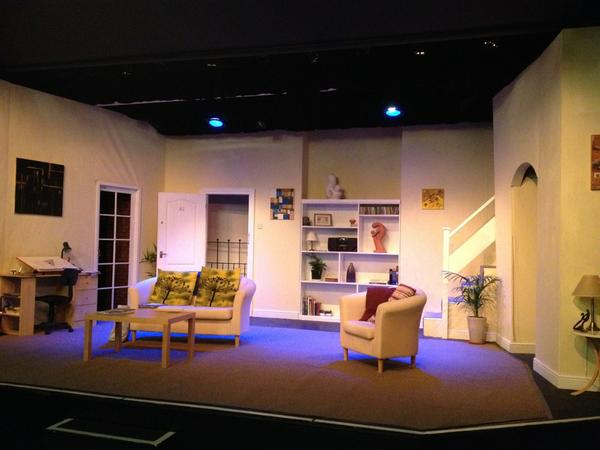 Preview of set #phoenixplayers Come and see it in the flesh and our wonderful actors #artscentre