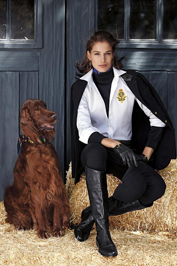 """Ralph Lauren on Twitter: """"Lauren Ralph Lauren Fall 2012 Modern Equestrian http://t.co/MRTzIrRx http://t.co/imJeNuSA"""""""