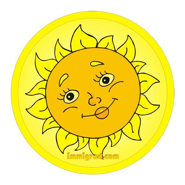 Картинки солнышко для эмблемы