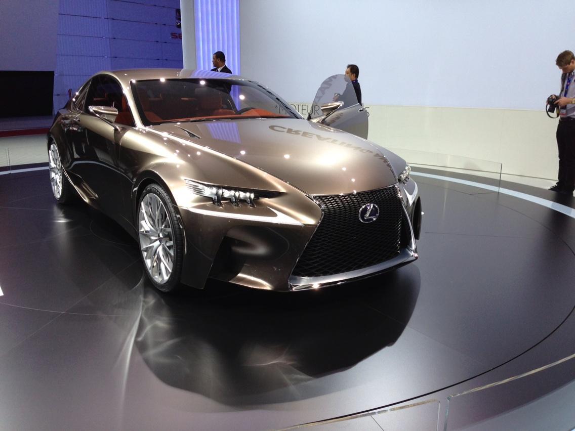 Lexus lf gh concept 2011 exterior detail 49 of 49 1600x1200 - Lexus Lf Cc Paris Motor Show Page 15 Clublexus Lexus Forum Discussion