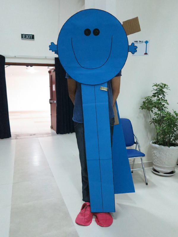 Leicester_Gav on Twitter  The finished Mr Tall costume! #MrMen #fancydress #bookweek //t.co/6hx46i8m  & Leicester_Gav on Twitter: