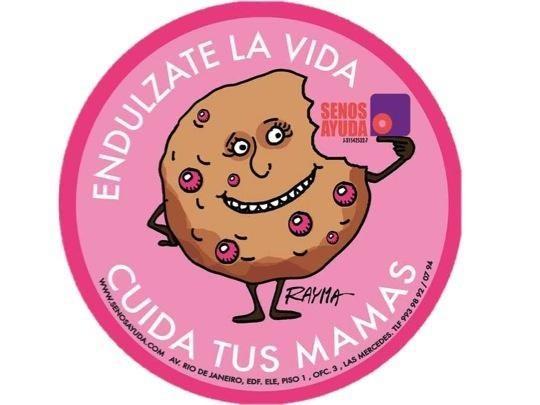 Endúlzate la vida con la nueva lata de Chip-a-Cookie, diseñada por @raymacaricatura y dona 5 BsF. a @SenosAyuda http://t.co/mspD3nmE