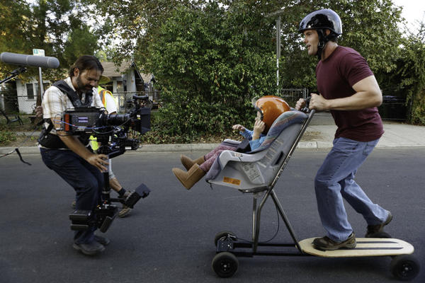 Skateboard Baby Stroller That Comes With Brakes And
