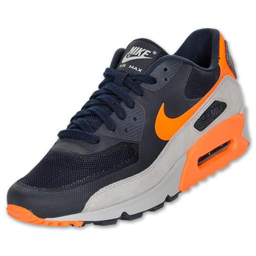 quality design d1bc8 ae070  KicksJustIn  Nike Air Max 90 Fuse in the dark obsidian total orange  colorway. http   finl.co RR7n9i pic.twitter.com hUiBVzpJ