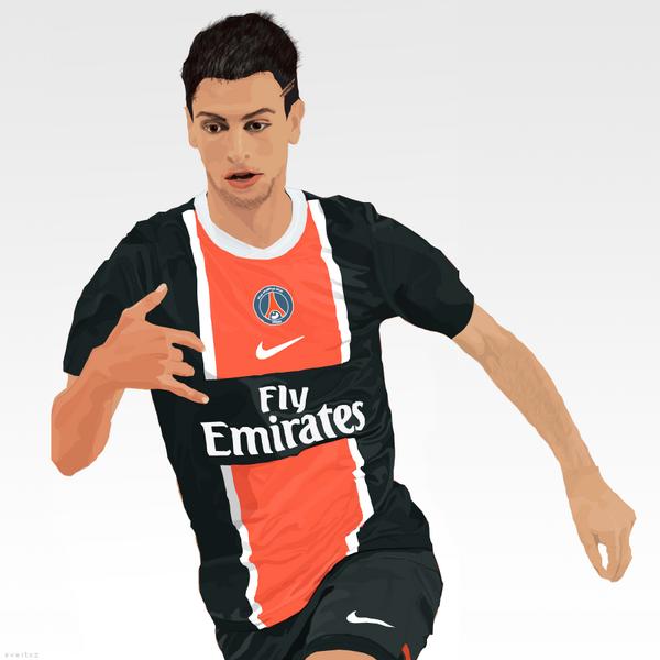 Javier Pastore: Paris Saint Germain (@Evertoz70)