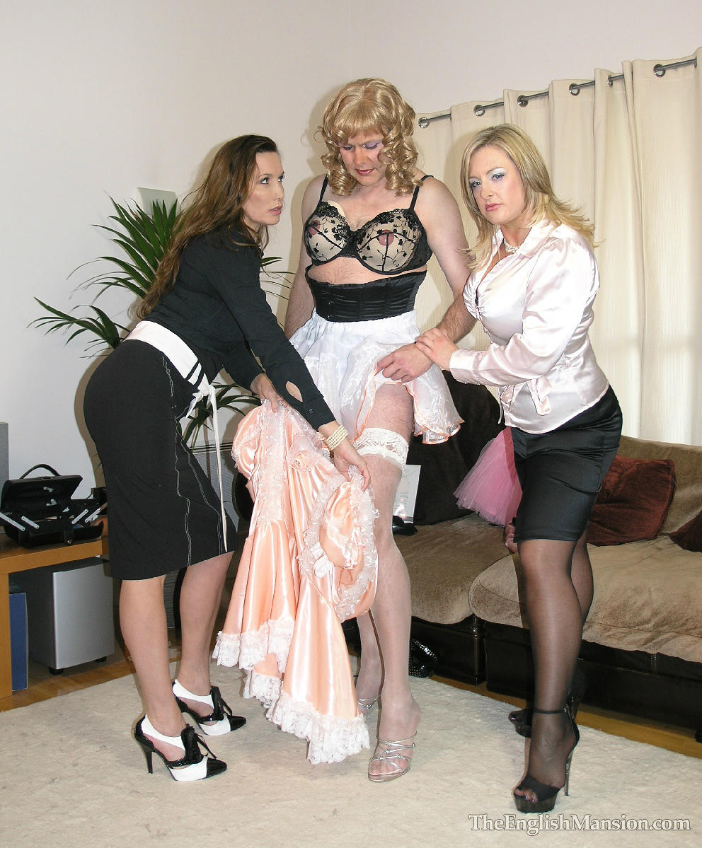 """Mistress Sidonia On Twitter: """"Enforced Sissy Dressing With"""