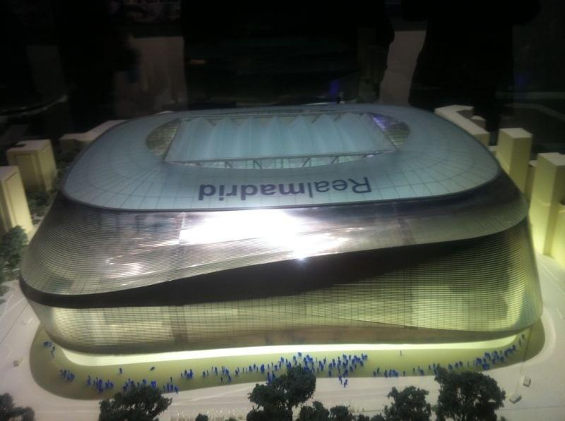 Projects new Santiago Bernabeu proyectos nuevo Real Madrid GMT Architekten L35 Ribas