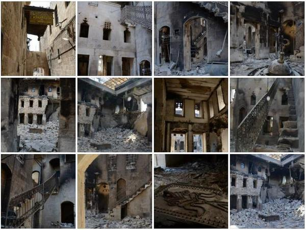 Destruction in DAR ZAMARIA in Aleppo دمار في دار زمريا في حلب https://www.facebook.com/Archaeology.in.Syria #Archaeology #Heritage #Syria http://pic.twitter.com/cS0IT5i9