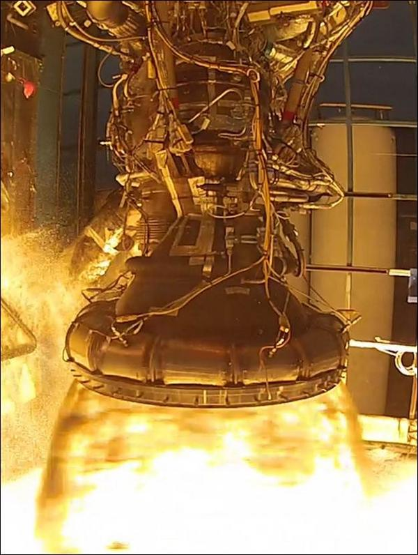 SpaceX Merlin 1D-Vac Engine