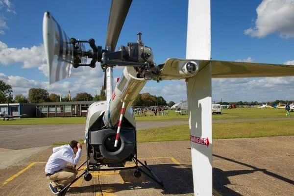 Nathan On Twitter QuotrobinsonR22 Preflight Inspection Photography He