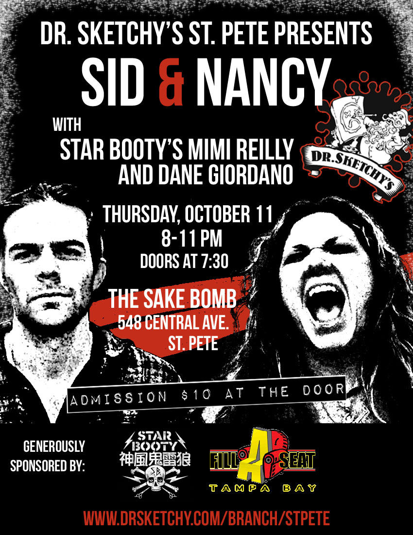 Dr. Sketchy's St. Pete Presents Sid & Nancy