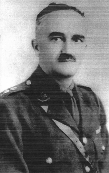 Lieutenant Colonel Harold Lilly