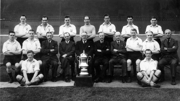 1946 FA Cup Final Winners - DCFC