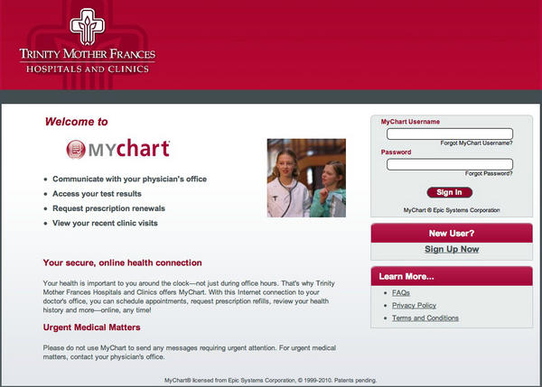 www.tmfmychart.org