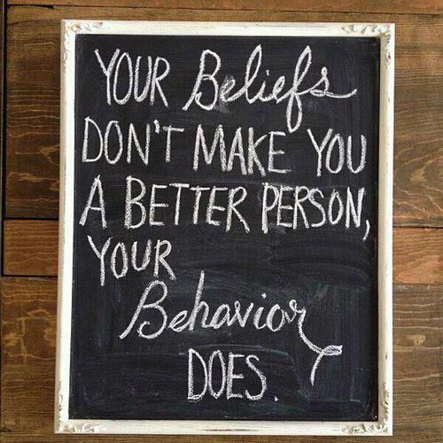 Beliefs vs. Behaviours, round #1. Ding... http://t.co/UWSLdH3q