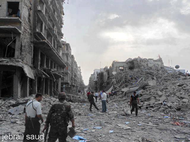 45446c895 Car Bombs Rip Apart Saadallah al-Jabiri Square in Aleppo - Syria Comment