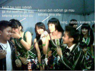iqbal coboy junior kabar iqbal dan nabilah jkt48 selebriti indonesia