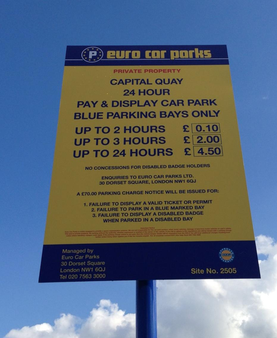 Salford Quays On Twitter New Blue Parking Bays At Capital Quay Car