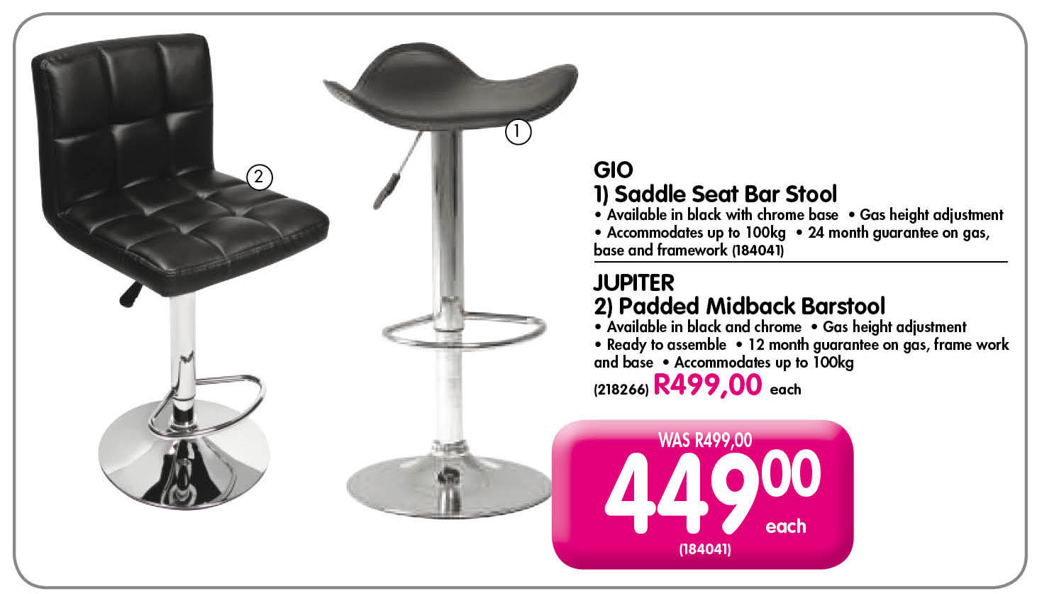 Makro South Africa On Twitter Quot Bar Stools Can Be So