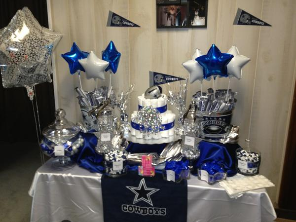 candyladies on twitter dallas cowboys baby shower candy buffet