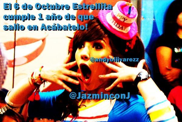El 6 de Octubre... @JazminconJ RT. http://t.co/uMPGQPSB