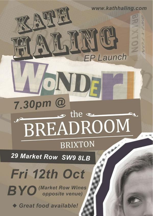 Tonight!! My EP launch @thebreadroom. Come support an Aussie in London!! @tntmagazine http://t.co/bA625jPr