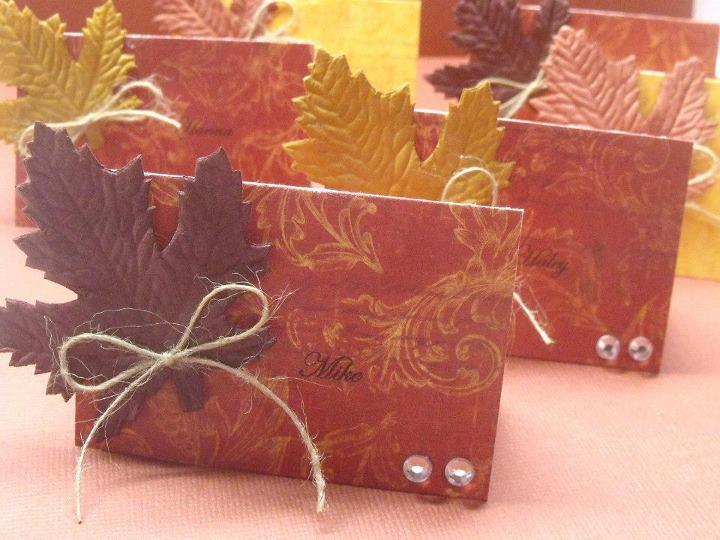 #Thanksgiving #handmade #placecard #Fall http://t.co/tA02UFEe