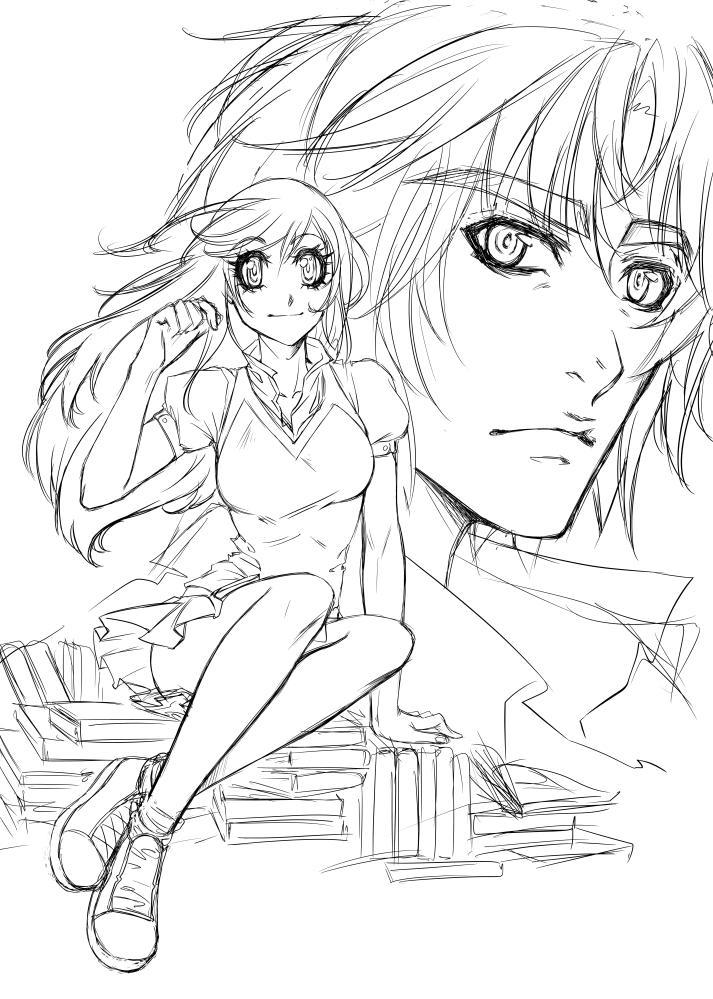Coloreado en Illust Studio | Blog Concurso Manga