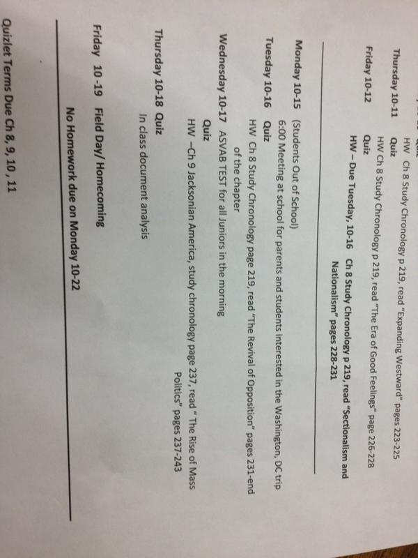 Apush sg Coursework Example