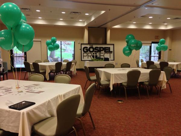 If you're at #KMC12, join us in Johnson Spring 1A for a @Gospel_Project networking lunch! http://pic.twitter.com/6mTKGNyK