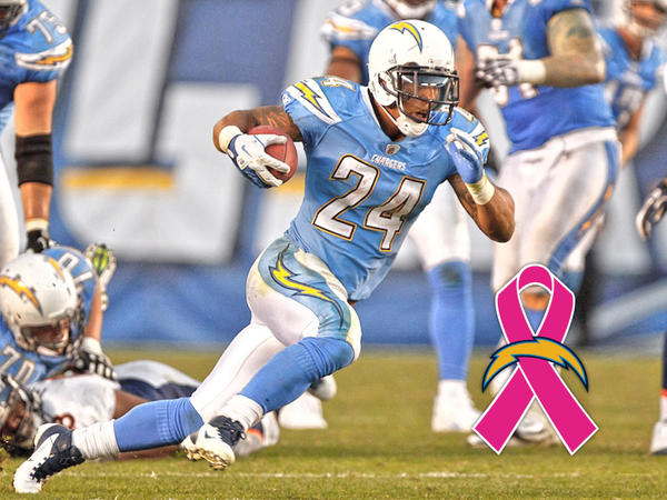 Los Angeles Chargers On Twitter Quot Powder Blue Pink Mnf