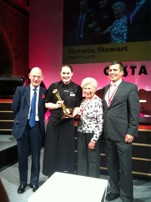 Costa Coffee On Twitter Congratulations To Victoria