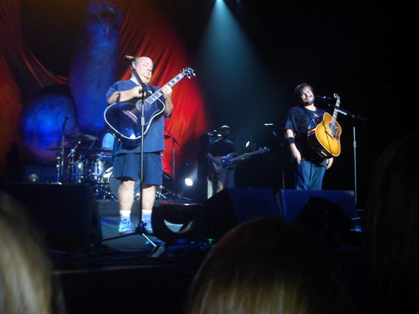 Tenacious D at the Wolverhampton civic last night, Absolutely rocked the place. #tenaciousd