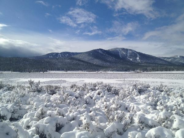 Amazing photo of @skinorthstar after 18 hours of snowfall. #WinterIsBack #TheWayItShouldBe