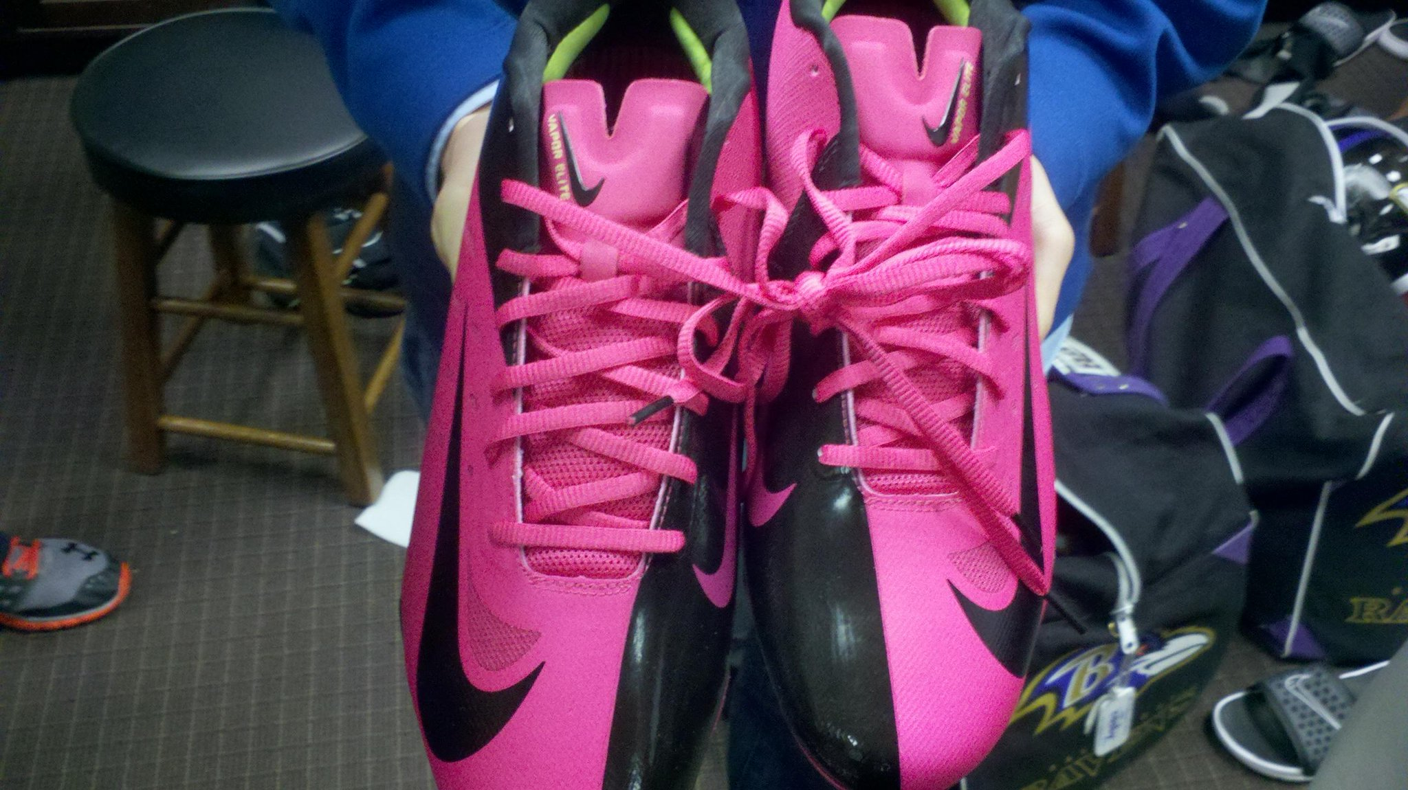 Ravens supporting Breast Cancer Awareness Month