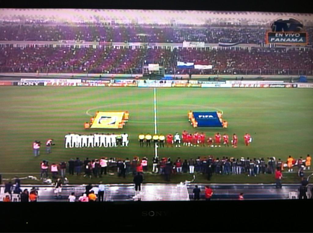 Panamá vs Honduras ya está en juego!!!